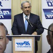 Netanjahu doch für Palästinenserstaat (Foto)