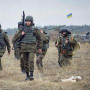 Pentagon will Ausbilder in die Ukraine schicken (Foto)