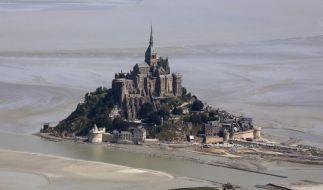 Naturspektakel: Hohe Flut am Mont-Saint-Michel erwartet (Foto)