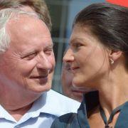 Lafontaine und Wagenknecht haben geheiratet (Foto)
