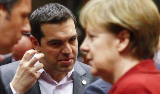 SPD verlangt vor Tsipras-Besuch festen Reformwillen vonAthen (Foto)
