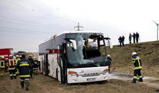 Schwerverletzte bei Busunglück in Österreich (Foto)