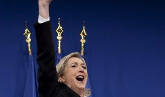 Marine Le Pen ist eine begnadete Populistin. (Foto)