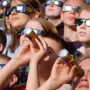 In Deutschland war in diesem Jahr nur eine partielle Sonnenfinsternis zu erleben.