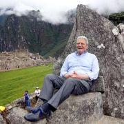 Gauck besucht Ruinenstadt Machu Picchu in den Anden (Foto)