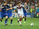 Mesut Özil tritt mit der DFB-Elf heute gegen Australien an. (Foto)