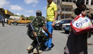 Verwirrung um Flucht von Jemens Präsident vor Rebellen (Foto)