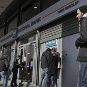 EZB: Hellas-Banken dürfen keine Staatsbonds mehr kaufen (Foto)