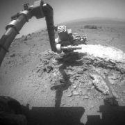 Marsrover «Opportunity» fährt Marathon-Distanz (Foto)