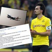 Mats Hummels reagiert auf rührende Bitte eines NRW-Schülers (Foto)