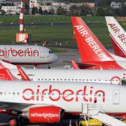 Schulden von Air Berlin auf 810 MillionenEuro gestiegen (Foto)