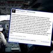 Passagierin bedankt sich bei Germanwings-Pilot (Foto)