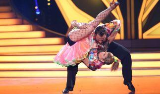 """Panagiota Petridou und Ihr Profitänzer Sergiu Luca sind nach Show 3 von """"Let's Dance"""" 2015 ausgeschieden. (Foto)"""