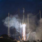 Zwei Galileo-Satelliten im Weltraum ausgesetzt (Foto)