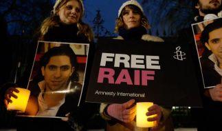 Blogger Badawi: Mit 30 Verbrechern auf 20 Quadratmetern (Foto)
