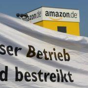 Amazon bekräftigt: Liefern trotz Streiks pünktlich (Foto)