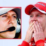 Sebastian Vettel triumphiert und huldigt Idol Schumi (Foto)