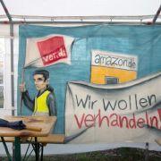 Amazon-Mitarbeiter streiken an fünf Orten (Foto)