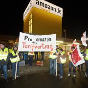 Verdi setzt Amazon-Streiks fort (Foto)