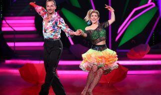 """Panagiota Petridou hatte in der dritten Show von """"Let's Dance"""" 2015 ausgetanzt. (Foto)"""