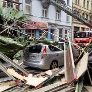Sturm-Alarm in Deutschland: Erste Tote durch Unwetter (Foto)