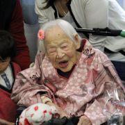 Japanerin mit 117 Jahren gestorben (Foto)