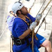 Abnehm-Moppel werden zu Kletteräffchen (Foto)