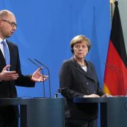 Merkel lobt Reformen in Ukraine (Foto)