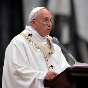Papst will «keine jammernden Hirten» (Foto)