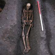 400 Skelette unter Elite-Uni vergraben (Foto)