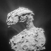 Orientierungsprobleme: «Rosetta» geht auf Distanz zu «Tschuri» (Foto)