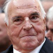 Helmut Kohl: Glückwünsche und Groll (Foto)