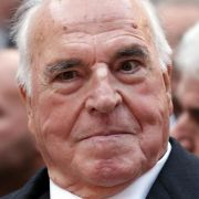 Kohl zum 85. als «herausragender Staatsmann» gewürdigt (Foto)