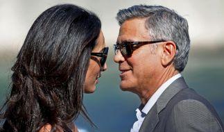 US-Medien berichten von Ärger im Hause Clooney. (Foto)