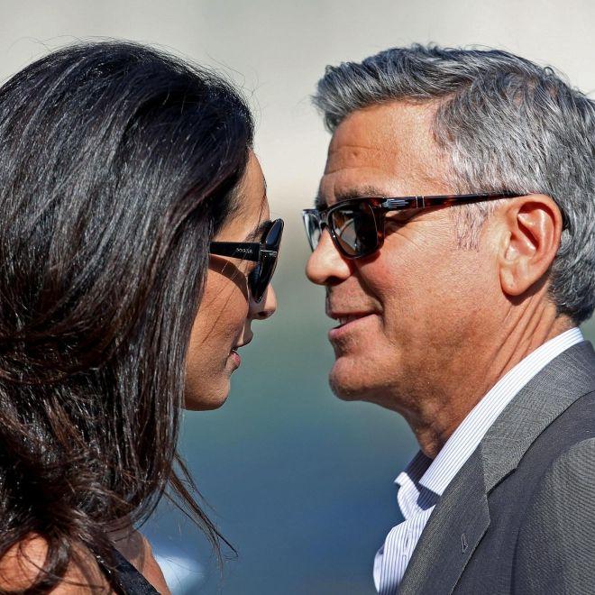 Trennung! George und Amal Clooney lassen sich scheiden (Foto)