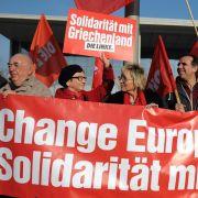 Linken-Politikerin verteidigt Tsipras-Reise nach Moskau (Foto)