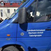 Polizei sucht mit Hochdruck nach Brandstiftern von Tröglitz (Foto)