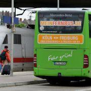 Busunternehmer:Bahn muss keine Angst vorm Fernbus haben (Foto)