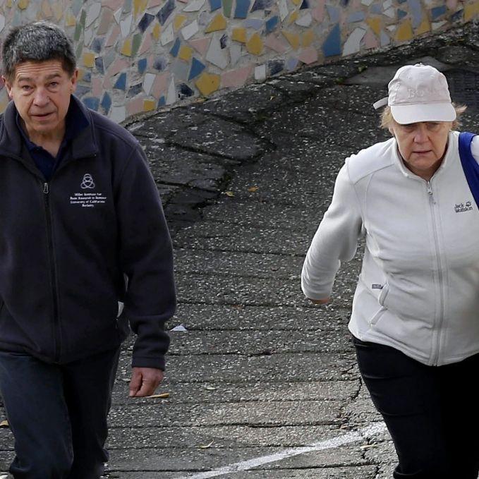 Auch im Italien-Urlaub ist Angela Merkel der BOSS (Foto)