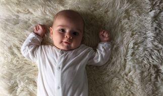 Kourtney Kardashian hat erstmals ein Bild ihres Sohnes Reign gezeigt. (Foto)