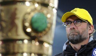 DFB Pokal 2015: BVB-Coach Jürgen Klopp war fest entschlossen, im Viertelfinale gegen Hoffenheim zu punkten - mit Erfolg. (Foto)