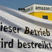 Verdi bestreikt Amazon in Bad Hersfeld (Foto)