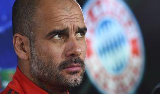 Bayern-Coach Pep Guardiola muss im Viertelfinale des DFB Pokals 2015 gegen Bayer Leverkusen auf einige Topspieler verzichten. (Foto)