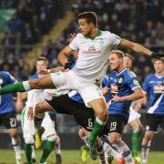 Sensation! Drittligist Bielefeld kickt M'Gladbach ins Aus (Foto)