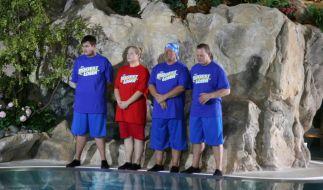 """Im Halbfinale von The Biggest Loser"""" 2015 warteten harte Challenges auf die Kandidaten. (Foto)"""