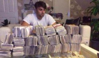 Olsi Beheluli verdient den Preis als dümmster Dealer der Welt. (Foto)