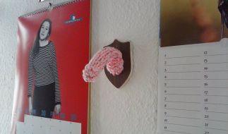 So könnte der erste rosafarbene Penis ausgesehen haben, den der Schweizer Reto Keiser fertigte. (Foto)