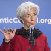 IWF-Chefin Lagarde warnt vor Finanzkrise (Foto)