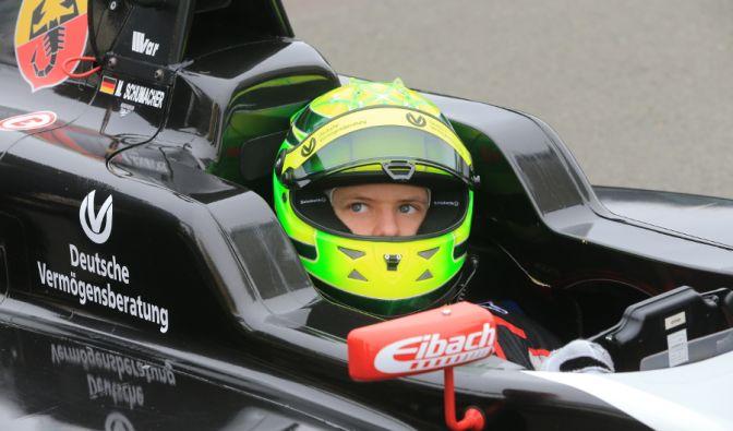 Schumi-Sohn in der Formel 4