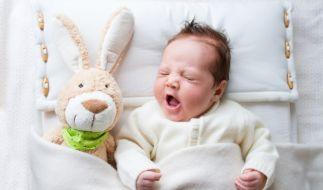 Nathan Dailo verspricht, ein Baby innerhalb von 42 Sekunden zum Einschlafen zu bringen. (Foto)